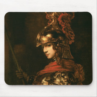 Pallas Athena or, Armoured Figure, 1664-65 Mouse Pad
