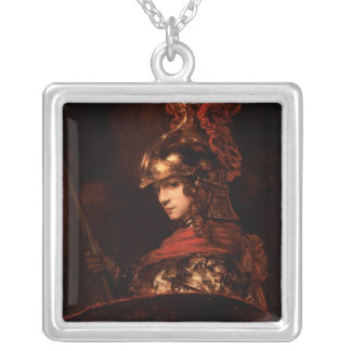Pallas Athena or, Armoured Figure, 1664-65 Personalized Necklace