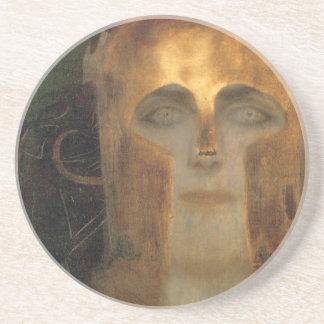 Pallas Athena por la escuela del misterio del oro  Posavasos Para Bebidas