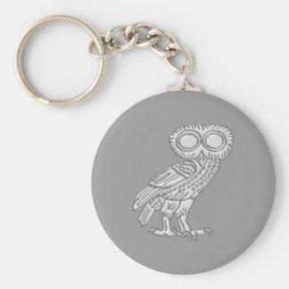 Pallas Athene Athena owl owl Keychains