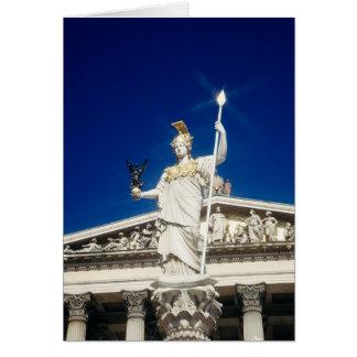 Pallas-Athene Fountain Card