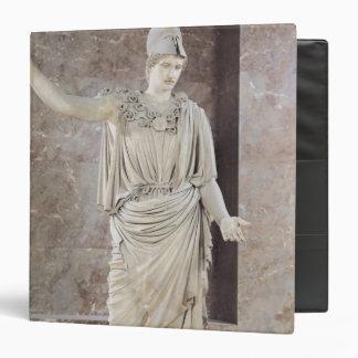 Pallas de Velletri, statue of helmeted Athena Binder