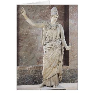Pallas de Velletri, statue of helmeted Athena Card