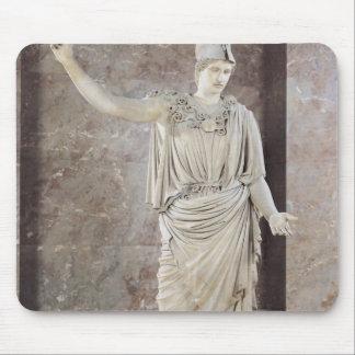 Pallas de Velletri, statue of helmeted Athena Mouse Pad