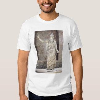 Pallas de Velletri, statue of helmeted Athena T Shirt
