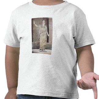 Pallas de Velletri, statue of helmeted Athena T-shirts