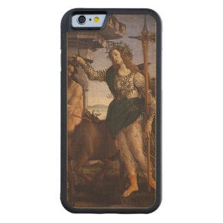 Pallas y el Centaur por Botticelli Funda De iPhone 6 Bumper Arce