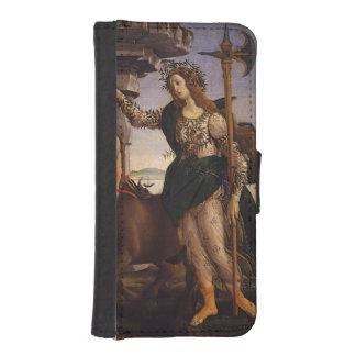 Pallas y el Centaur por Botticelli Funda Tipo Cartera Para iPhone 5