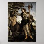 Pallas y el Centaur Póster