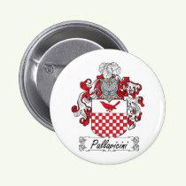 Pallavicini Family Crest Button