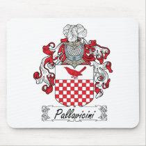 Pallavicini Family Crest Mousepad