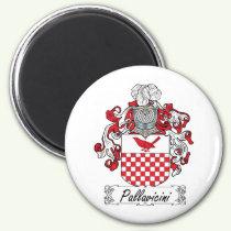 Pallavicini Family Crest Magnet
