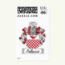 Pallavicini Family Crest Stamps