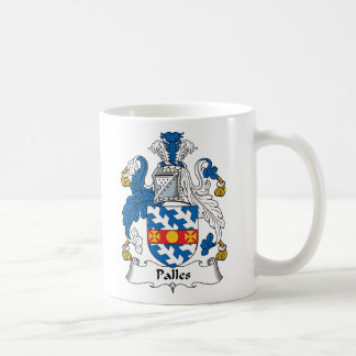 Palles Family Crest Classic White Coffee Mug