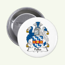 Palles Family Crest Button
