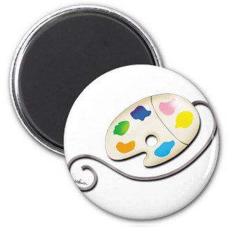Pallet Mouse Fridge Magnet