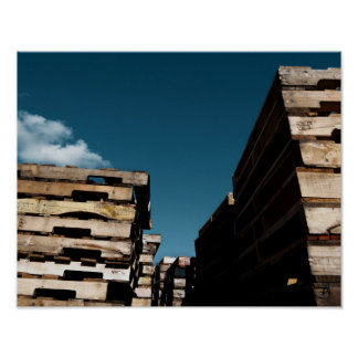 Pallets Poster