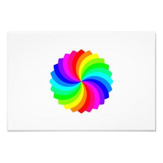 Pallette de giro colorido cojinete