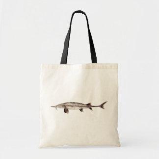 Pallid Sturgeon - Scaphirhynchus albus Canvas Bag