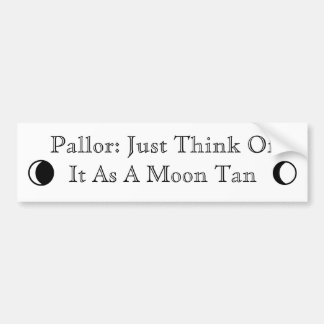 Pallor Bumper Sticker