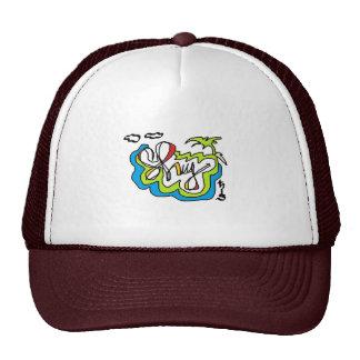 Palm 3 trucker hat