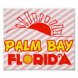 Palm Bay, Florida Poster
