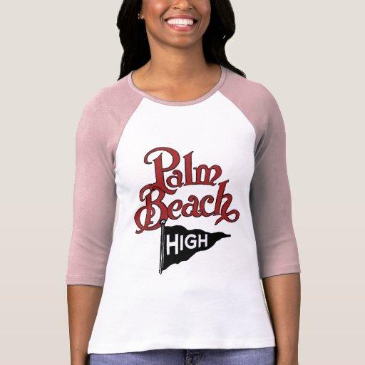 Palm Beach alto #1 Camisetas