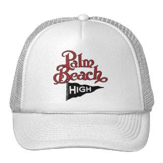 Palm Beach alto #1 Gorras De Camionero