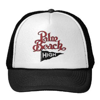 Palm Beach alto #1 Gorro De Camionero