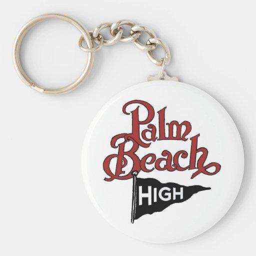 Palm Beach alto #1 Llavero Redondo Tipo Pin