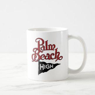 Palm Beach alto #1 Taza Básica Blanca