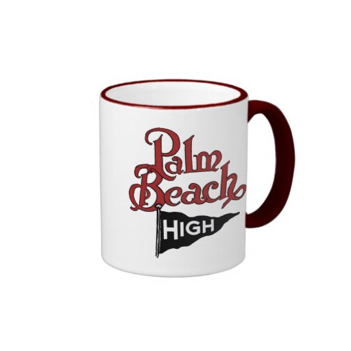 Palm Beach alto #1 Taza De Café