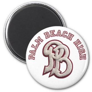 Palm Beach alto #2 Imán Redondo 5 Cm
