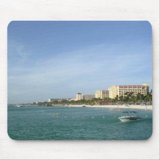 Palm Beach, Aruba Alfombrillas De Ratón