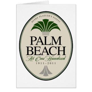 Palm Beach at 100 Card