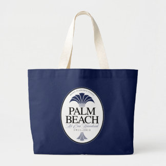 Palm Beach at 100 Large Tote Bag