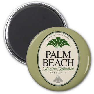 Palm Beach at 100 Refrigerator Magnet