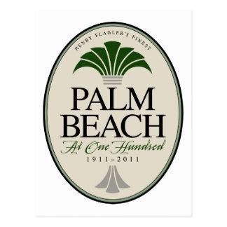 Palm Beach at 100 Postcard