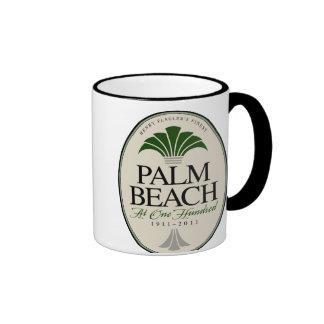 Palm Beach at 100 Ringer Coffee Mug