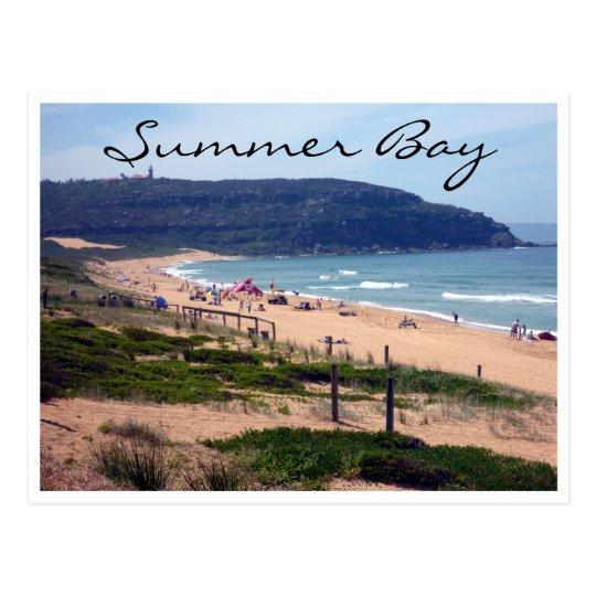 palm beach bay postcard