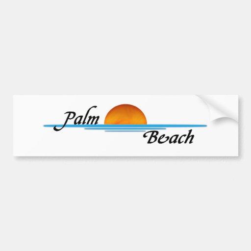 Palm Beach Bumper Sticker