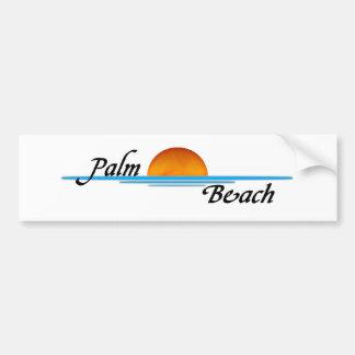 Palm Beach Etiqueta De Parachoque