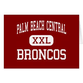 Palm Beach Central - Broncos - High - Wellington Greeting Card