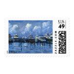 Palm Beach City Docks postage stamp