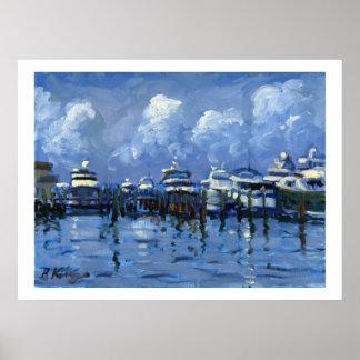 Palm Beach City Docks poster