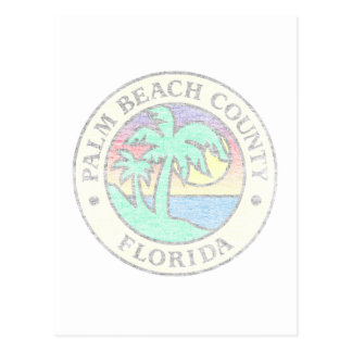 Palm Beach County Postcard