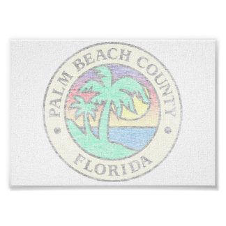 Palm Beach County Poster