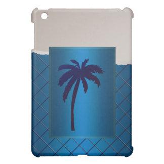 Palm Beach del azul de la palmera del azul real