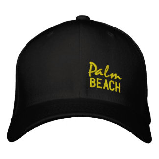 PALM BEACH - Embroidered Baseball Cap