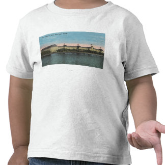 Palm Beach, FL - Ext.View de Poinciana real Camiseta